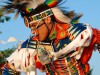 Ein Powwow-Tänzer beim Red Earth Festival in Oklahoma City. <br>&copy; Kansas and Oklahoma Travel and Tourism