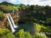 Blick in den Kessel der Wailua Falls. <br>&copy; Destination Hawaii
