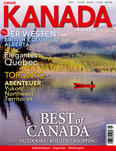 AMERICA Journal Ausgabe 1/2013 <br> SONDERHEFT <br>KANADA MAGAZIN