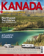 AMERICA Journal Ausgabe 1/2014 <br> SONDERHEFT <br>KANADA MAGAZIN