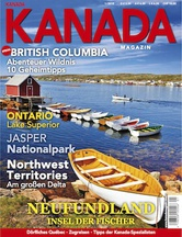 AMERICA Journal Ausgabe 1/2014         5 <br> SONDERHEFT <br>KANADA MAGAZIN