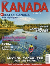 AMERICA Journal Ausgabe 1/2016 <br> SONDERHEFT <br>KANADA MAGAZIN