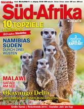 SÜD-AFRIKA Magazin Ausgabe 1/2016