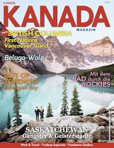 AMERICA Journal Ausgabe 1/2017 <br> SONDERHEFT <br>KANADA MAGAZIN