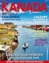AMERICA Journal Ausgabe 1/2018 <br> SONDERHEFT <br>KANADA MAGAZIN